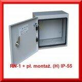 MASKOWNICA  RN-1 + płyta montażowa (H) IP-55